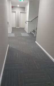 Unit is on level 1 accessible from both ground floor and Carpark via lift. photo of level 1 floor space.