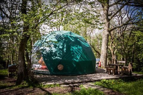Oak Dome - Cosy Under Canvas