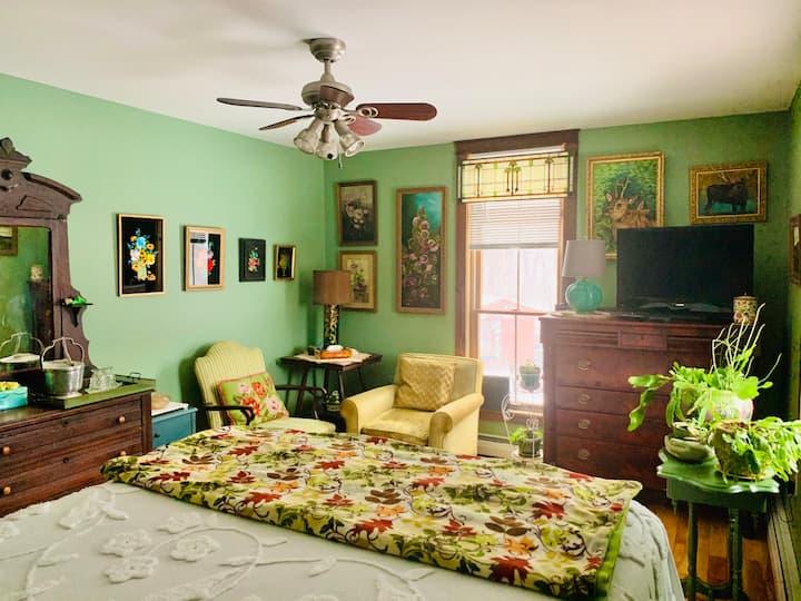 Clarendon Springs B&B, 1 Cozy Room, 1-2 Guests