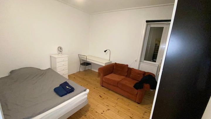 Quiet Balcony Room