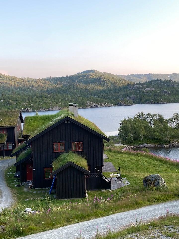 Fjellidyll i leilighet på Vågslid, Haukeli.