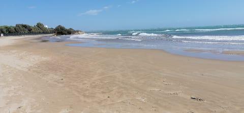holiday home 200 mt fantastic Sand Beach