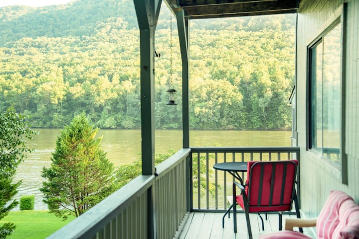 Unit I | Mountain Getaway With Riverfront View!