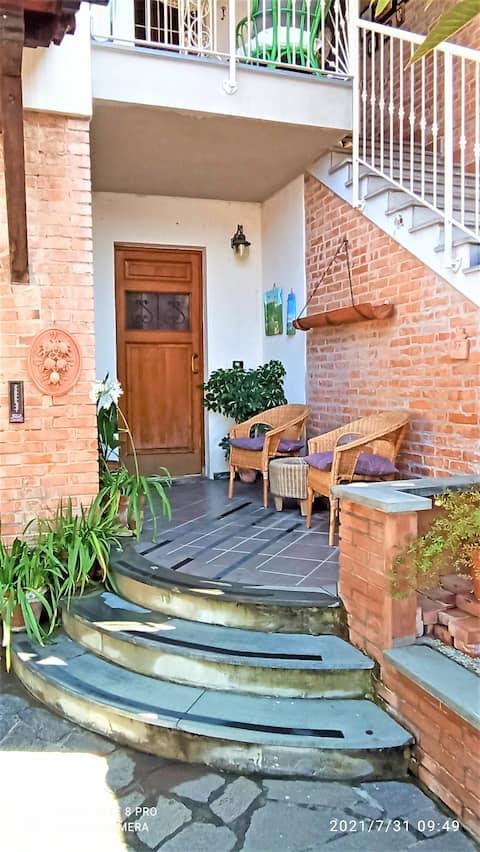 Útulný a svetlý byt v Toskánsku