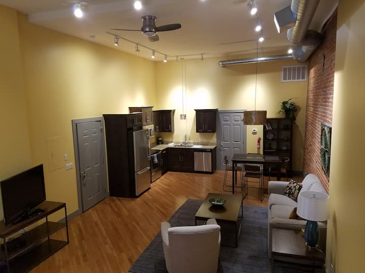 Cool Downtown Hastings Loft