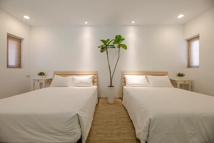 Private room for 3~4 / Taichung / Fengjia