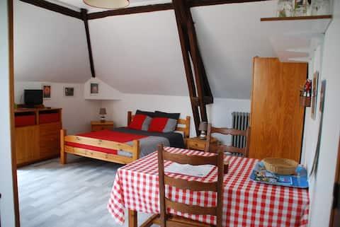 Studio meublé proche Le Havre