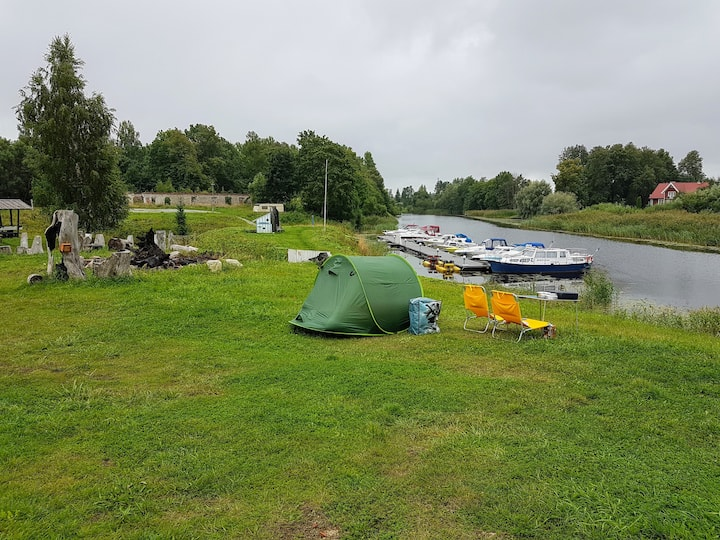 Fishing Village - Tenting area in Pärnu