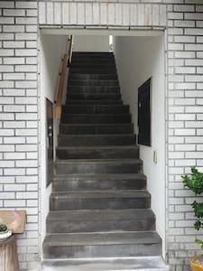 객실로 올라가는 계단입니다