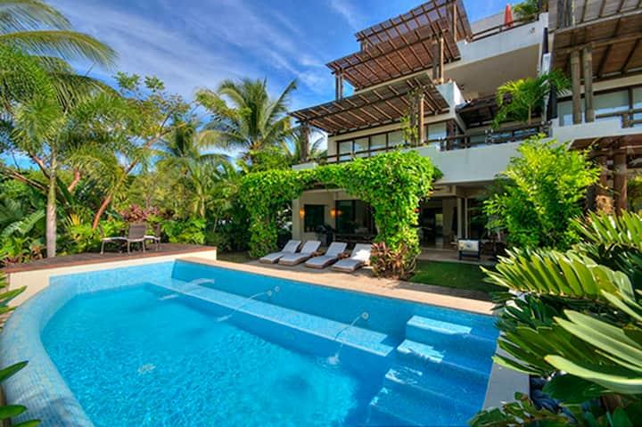 Unique Beach Villa & private pool