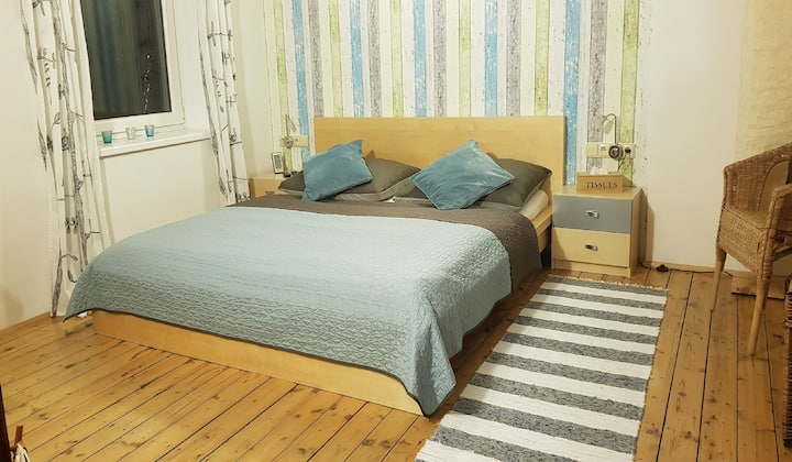 Vintage attic apartment - airconditioned