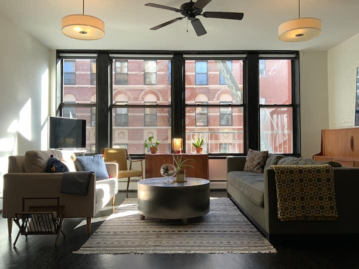 Beautiful Airy Lower East Side Loft