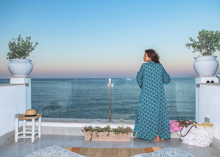 CASA BLU in riva al mare