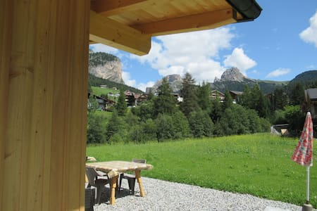 DUMBRIA -Chalet  in the Dolomites for 19 pax