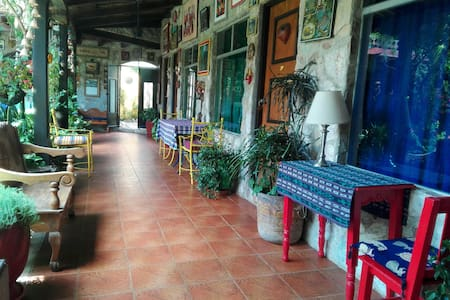 Corridor of the entrance of the House.