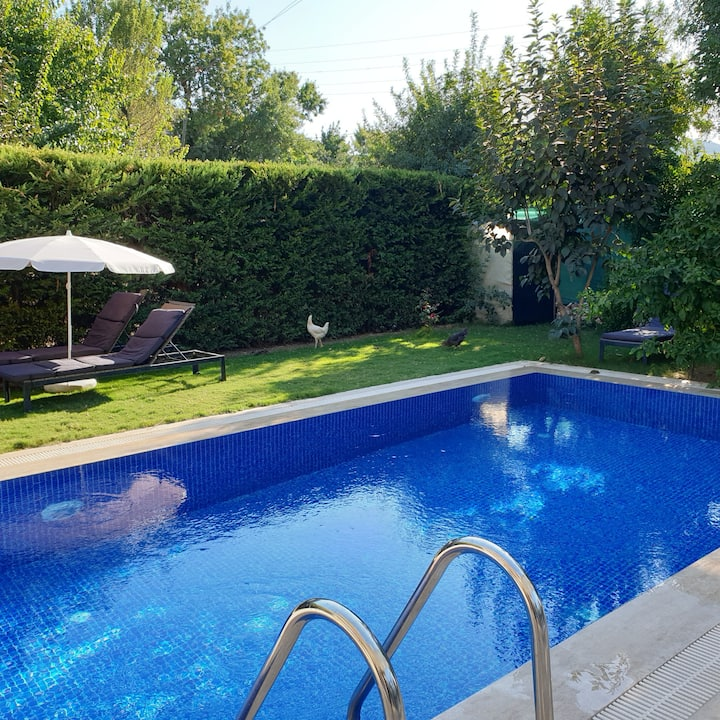 Villa enJOY in Kayakoy, totally PRIVATE POOL