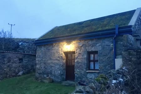 Aran Island studio (with wildflower roof)