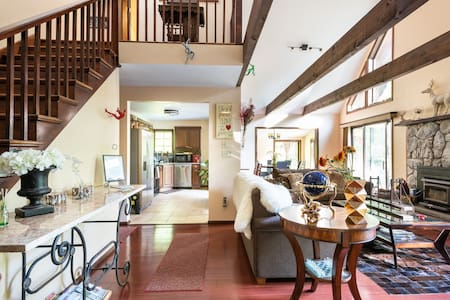 Large open one-level area allows access to/from the Great Room, Kitchen and Dining Room.
