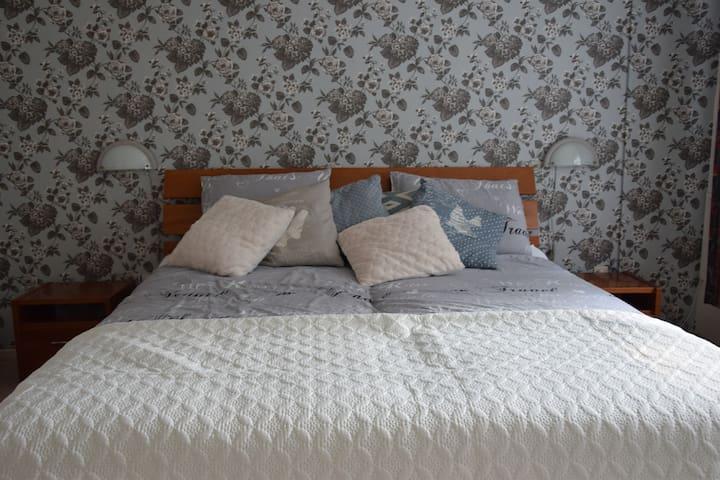 Heerlijke slaapkamer