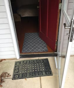 Step free access from driveway through front door.