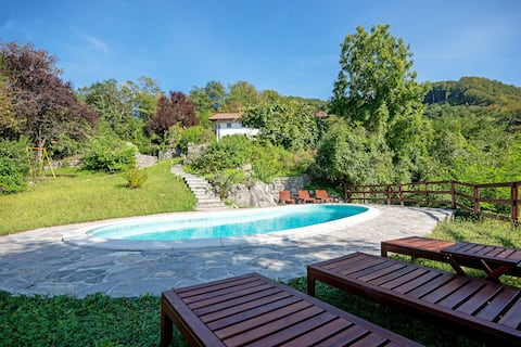 Soca Villa - luxury retreat with pool and views