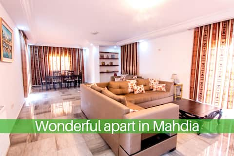 Splendide appartement Mahdia