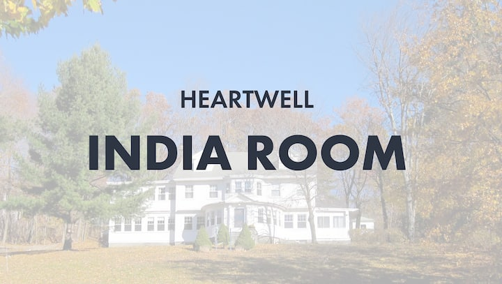 HeartWell India Room  (Queen bed+single bed)