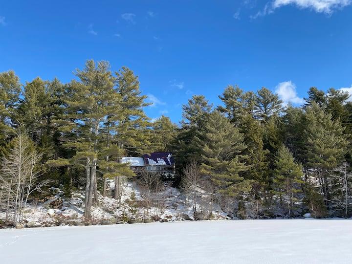 Gran Den Lakefront Home Near Acadia