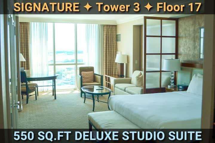 Signature@MGM Suite • 17th Floor • NO Resort Fees!