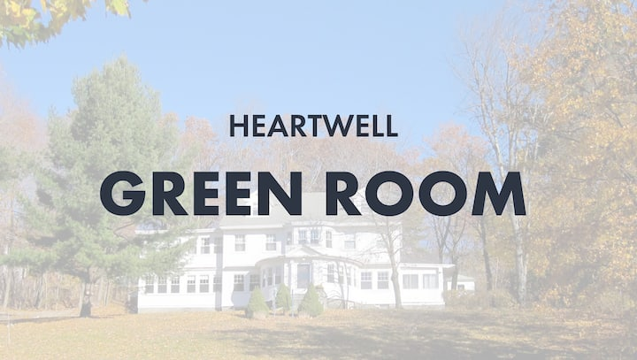 HeartWell House, Green Room (2 Beds)