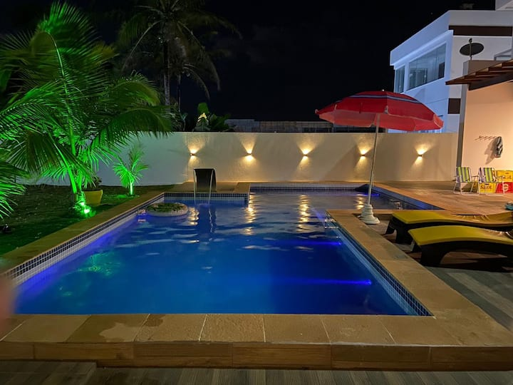 Casa de Sauipe TOP! com piscina, Gourmet e Praia
