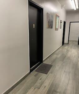 Step-free apartment entrance