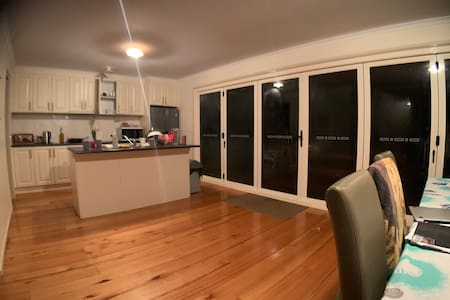 There are bifold doors at the rear of the house for easy  access including wheelchairs
