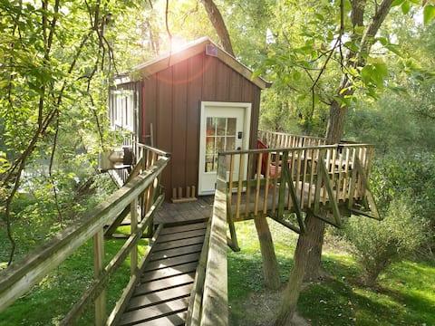 River Treehouse on the Sydenham