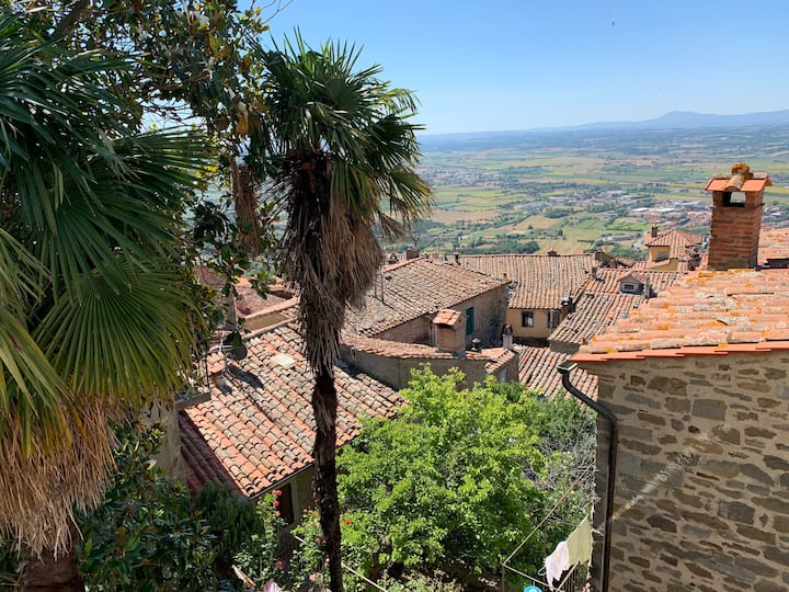 Cortona historical centre. Great views and WiFi