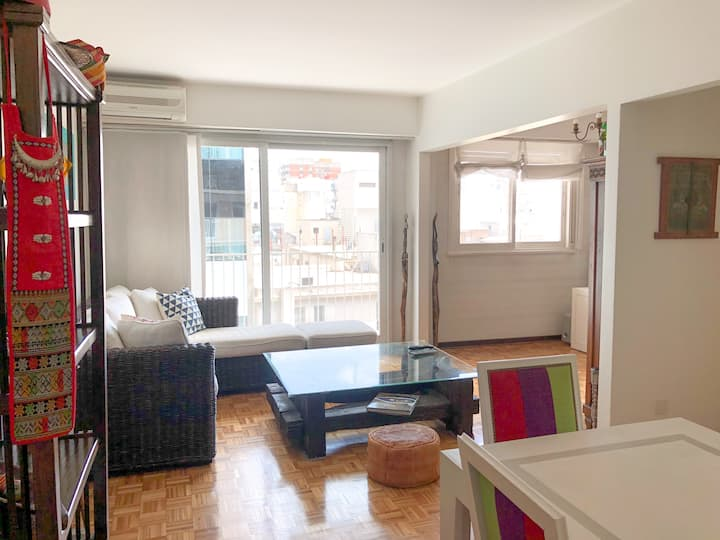 Large and Comfortable Apartment in Recoleta!!