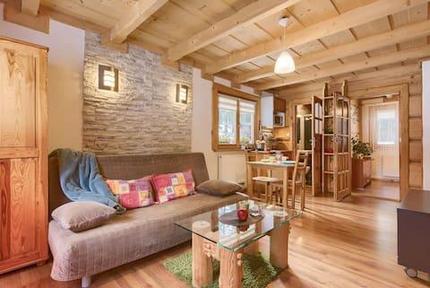 Appt en casa de campo de montaña en Tater