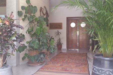 Couloir d'entrée de la maison.