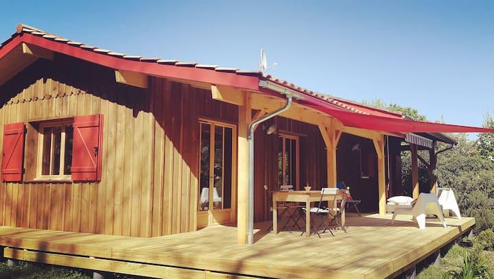 """""""La cabane d'ici"""" maison de charme type Cap Ferret"""
