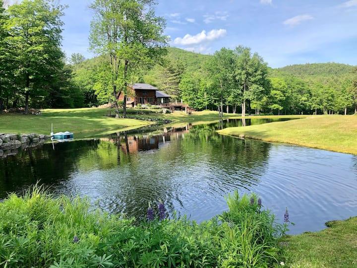 Tartan Rabbit w/Swim Pond,River,Fire pit +15 Acres