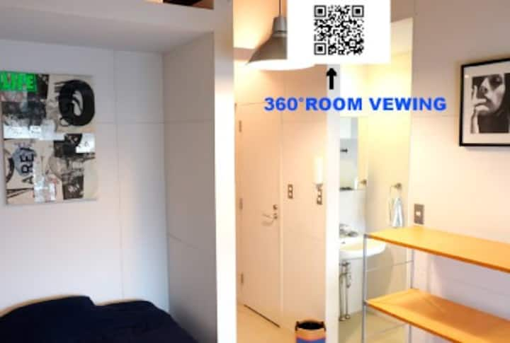High speed internet ,8min walk JR Osaki.max for 3