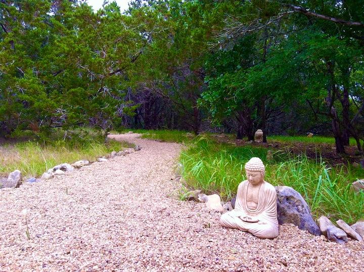 Zen Cabin  In The Woods