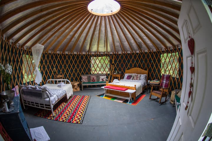 Gambier Island Glamping, Howe Sound, BC