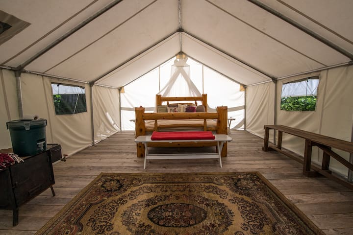 Canvas Wall Tent #1