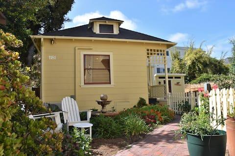 Cozy Victorian Garden Cottage