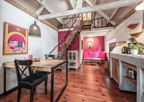 2-pers vakantiehuis in de Koog 'de Paardenstal'