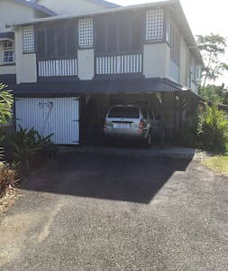 Flat drive way for disable guest to park