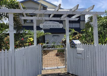 Front entrance to Sea Breeze Beach House
