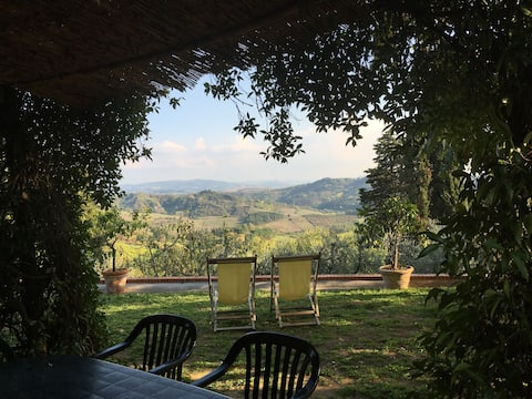 Panoramic Cozy Gelso - Heart of Tuscany