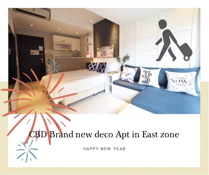 CBD Brand new deco Apt in east zone